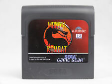 Mortal Kombat Sega Game Gear Cartridge
