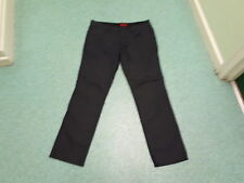 "River Island Straight Jeans Waist 36"" Leg 32"" Faded Dark Blue/Black Mens Jeans"