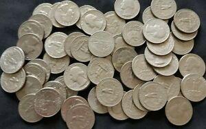 USA Quarter Dollar Coin Collection of over 55 Coins