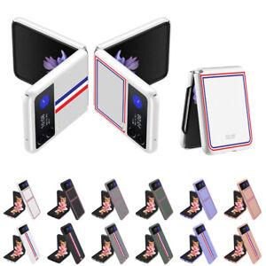 Skin Feel Shockproof Hard PC Bumper Case For Samsung Galaxy Z Flip 3 5G Cover