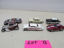 6-CARS~ LOT B ~HO SCALE