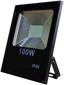 100 Watt LED Außenstrahler Flutlicht Baustrahler Gartenleuchte Arbeitsleuchte