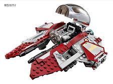 Star Wars Obiwan's Jedi interceptor diy Building Toys Blocks 220PCS #10575