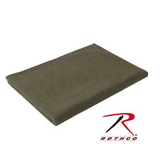 "wool blanket military style Olive Drab (O.D. Green) 62"" x 80"" rothco 9093"
