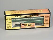 RAIL KING O-27 PCC Electric Street Car - San Francisco PCC Car 30-2504-0