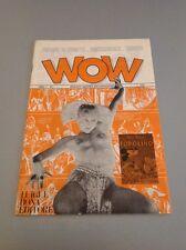 WOW Fanzine di Fumetti, ecc - Anno I N.1 - Luigi F. Bona Editore