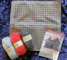 Embroider Cushion kit by Phildar personalise your own cushion kit