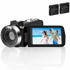 Video Camera Camcorder Comkes Digital vlogging Camera for YouTube Full HD 1080P