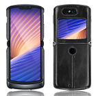 Luxury Leather Cover Phone Case Shockproof Shell for Motorola Razr2 5G 2020 NEW