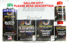 House of Kolor S2-25  Jet Black SHIMRIN2 Base and Clear GALLON KIT