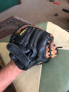 "Wilson Staff A0700 STCM RHT Catcher's Glove 11"" Canyon Leather Custom Fit 32.5"""