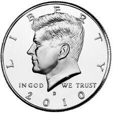 2010 KENNEDY HALF DOLLAR Set P&D (2 COIN SET) BU Choice Quality No S/H # 2783