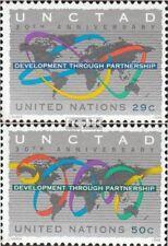 VN - Niew York 677-678 postfris 1994 30 Years UNCTAD