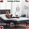 ADJUSTABLE BED FRAME Base Electric w/ Remote Metal Twin-XL Full Queen Split King