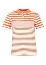Gestreifte Damen-Poloshirts Größe 42