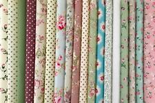 Big Bundle New 100% Cotton Floral Fabric Material Remnants Offcuts Riley Blake