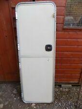 Caravan stable door /aluminium frame, Avondale,tear drop. with key