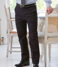 Patternless Big & Tall Trousers for Men