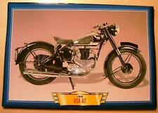 BSA A7 500 TWIN 1949 VINTAGE CLASSIC MOTORCYCLE CLASSIC BIKE PICTURE 1940'S