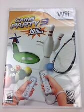 Game Party 3 (Nintendo Wii, 2009) New Sealed Fast Shipping - VG-2