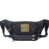 Waterproof Waist Fanny Pack Hip Purse Pouch Sport Men Chest Oxford Bum Belt Bag