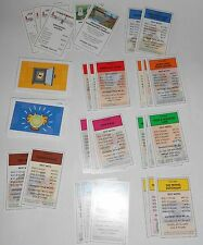 The Simpsons Monopoly Replacement Property, Chance, Community Chest Cards