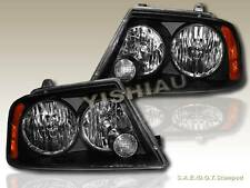 03 04 05 06 LINCOLN NAVIGATOR BLACK HEADLIGHTS LAMPS