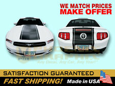 2010 2011 2012 Mustang GT Lemans Racing V6 V8 Stripes Decals & Stripes Kit