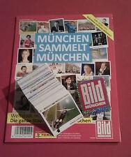 Panini München sammelt München - komplett alle 216 Sticker + Album RAR