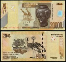 More details for congo democratic republic 20000 francs (p104c) 2020 unc