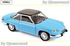 Panhard 24 CT de 1964 Tolede Blue & Black NOREV - NO 184501 - Echelle 1/18