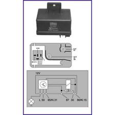 Relais Système de Préchauffage Hüco - Hüco 132051