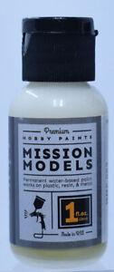 Mission Models German WWII Elfnbein Interior White Acrylic Paint 1oz