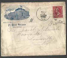 DATED 1899 COVER PERU IL ST BEDE COLLEGE