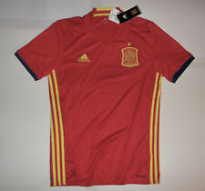 NEW NWT SPAIN ESPANA NATIONAL FOOTBALL TEAM ADIDAS SOCCER JERSEY SHIRT Men's S