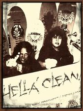 Vintage Zorlac Metallica Skateboard STICKER. James & Kirk Pushead 3.25x2.5 inch