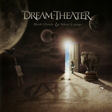 DREAM THEATER Black Clouds & Silver Linings BANNER HUGE 4X4 Ft Fabric Poster art
