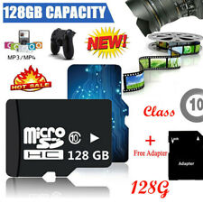 NEU 128GB Micro SD SDHC Speicherkarte inkl. SD Kartenadapter Class 10 UNIVERSAL