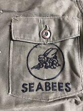 Vietnam War Era SeaBees Og107 Fatigue Shirt
