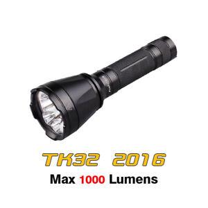 Fenix TK32 2016 Cree XP-L HI V3 LED Red Green Search Tactical Flashlight Torch