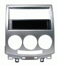 Radio-Rahmen 2DIN-ISO grau Mazda 5  Artikelnummer: 03373