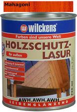 1x750ml Holzschutzlasur Holzlasur Wetterschutz Holzfarbe Holzschutz Mahagoni