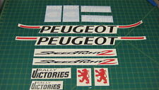 Peugeot Speedfight 2 Rally Victories decals sticker rally scooter restoration