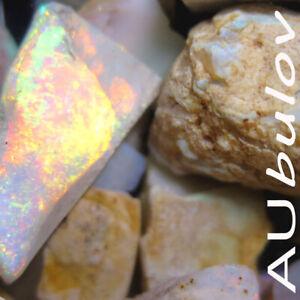 Coober Pedy Rough Opal Pieces 400.00 Carats- Please Read Description!