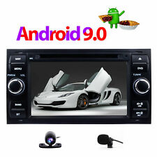 "7"" Android 9.0 DAB+ Car DVD CD Player Stereo GPS Navigation Ford Focus 2005-2007"