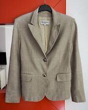IVAN GRUNDAHL Copenhagen Women's Single Breasted 100% Linen Blazer Jacket 38/M