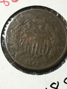 1868 Two Cent Item 0918808
