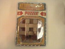 NEW BRAIN TEASER PUZZLE CASSE-TETE CHALLENGE YOUR MIND NIP