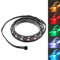 Coolmoon 50cm Magnetic RGB LED Strip Light with 30pcs LED for Desktop PC Compute