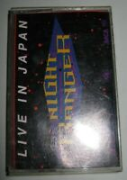 1990 Cassette ~ Night Ranger ‎– Live In Japan / MCA